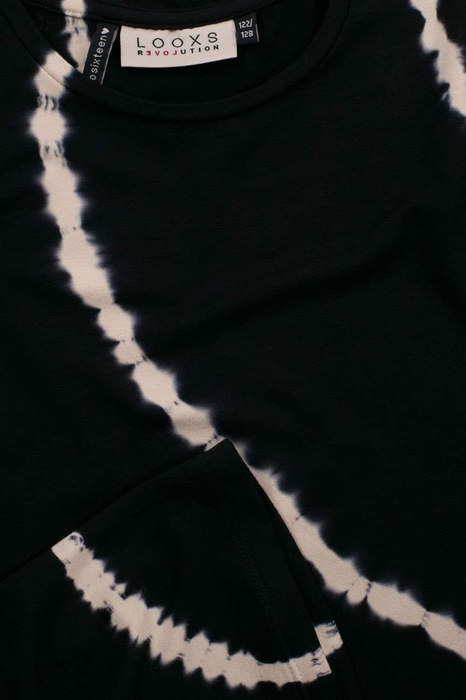 Looxs T-Shirt Bleach Stripe