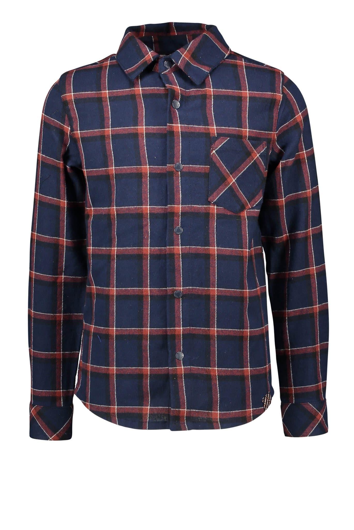 B.NOSY Big Check Woven Shirt