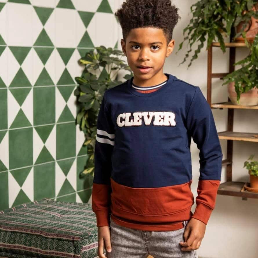 B.NOSY sweat Clever Space Blue