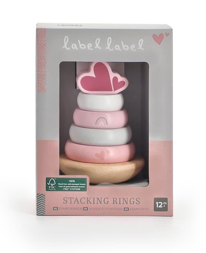 Label Label Stacking Rings