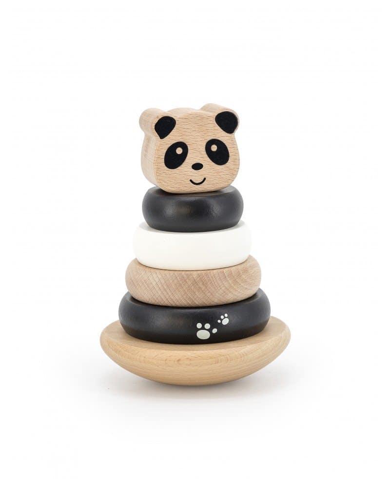 Label Stacking Ring Panda
