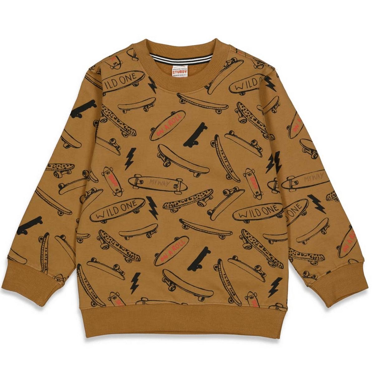 Sturdy Sweater AOP On a Roll